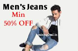 Men's Jeans Minimum 50% OFF From Rs 399 at Amazon