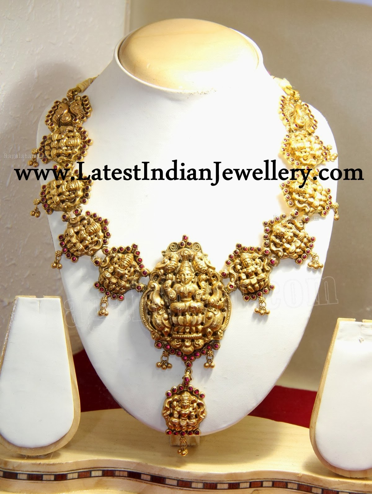 Traditional Ashta Lakshmi Necklace