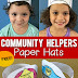 Community Helpers Printable Paper Hats