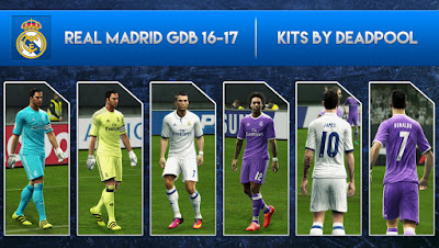 Real Madrid GDB 2016-17 [OFFICIAL GDB] by DEADPOOL