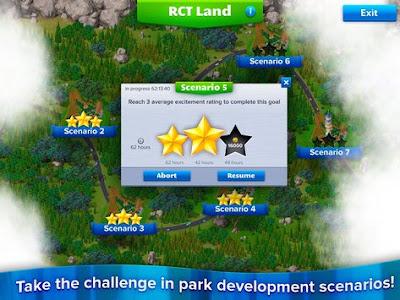 RollerCoaster Tycoon 4 Mobile Update Terbaru