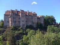 photo du château de Boussac