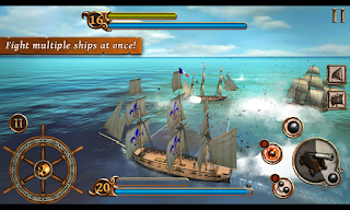 Ships of Battle Age of Pirates Mod Apk v1.30 (Unlimited Money)