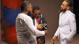 Photo Of The Day: Captioned This Adorable Photo Of Olamide, Phyno & Timaya