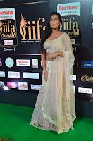 Prajna Actress in backless Cream Choli and transparent saree at IIFA Utsavam Awards 2017 0014.JPG