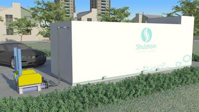 Prefabricated Sewage Treatment Plant by Shubham India