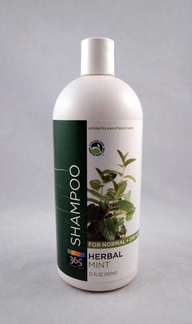 Whole Foods Herbal Mint Shampoo