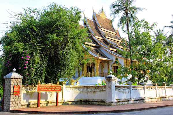 Haw Pha estrondo Temple - Luang Prabang