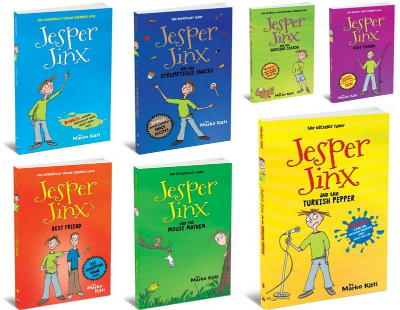 jesper jinx wonderfully wicked books by marko kitty