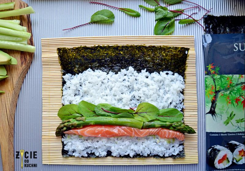 sushi, blue dragon, domowe sushi, jak zrobic sushi, uromaki, futomaki, maki, życie od kuchni
