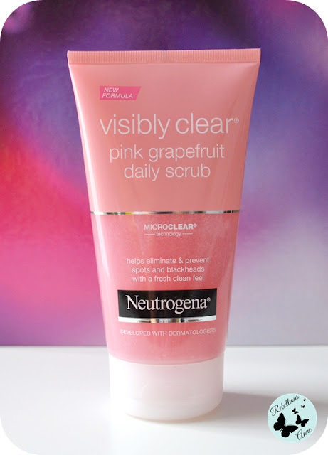 Moja recenzja - Neutrogena Visibly Clear Pink Grapefruit