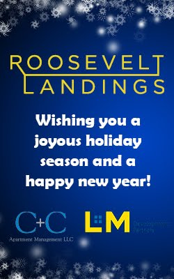 Roosevelt Landing Wishing You A Joyous Holiday Season And A Happy New Year