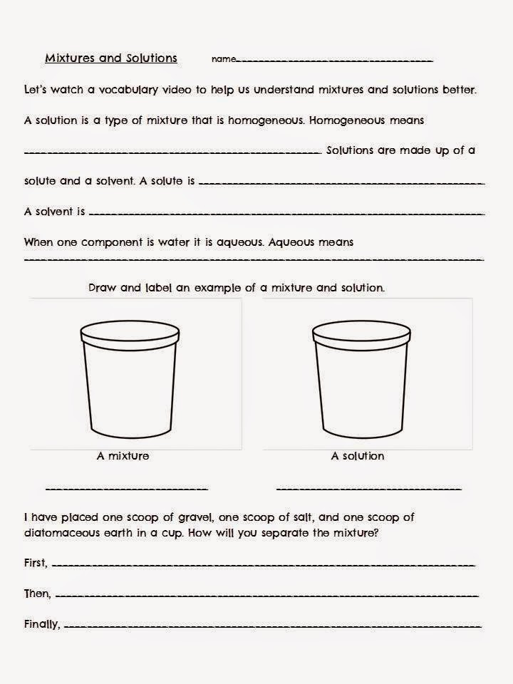 Solving Solutes vs  Solvents! - The Science School Yard