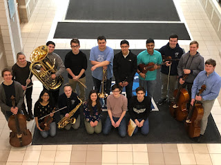 16 Franklin High School Music Students
