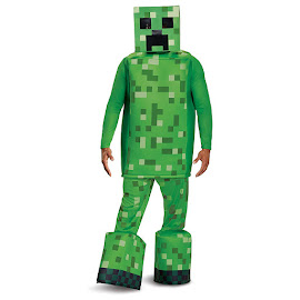 Minecraft Disguise Creeper Prestige Adult Costume Gadget