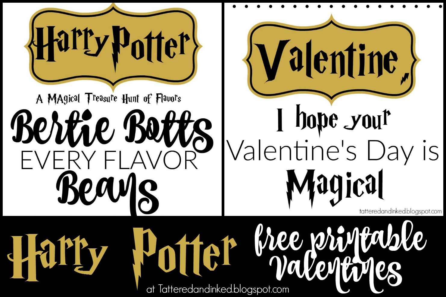 Free Printable Bertie Botts - Interior Design 3d •