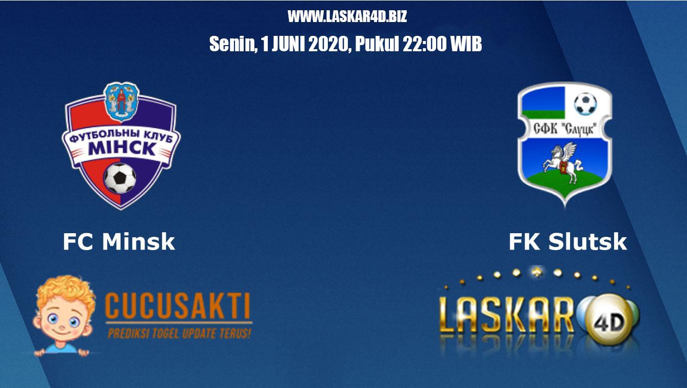 Prediksi Bola Minsk vs Slutsk Senin 1 Juni 2020