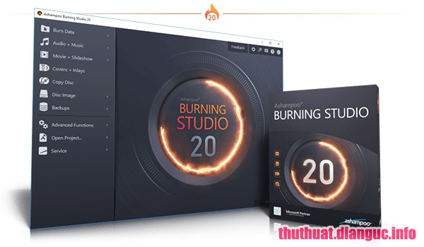 Download Ashampoo Burning Studio 20.0.3.3 Full Crack, Ashampoo Burning Studio, Ashampoo Burning Studio free download, Ashampoo Burning Studio full key, trình ghi đĩa chuyên nghiệp gọn nhẹ