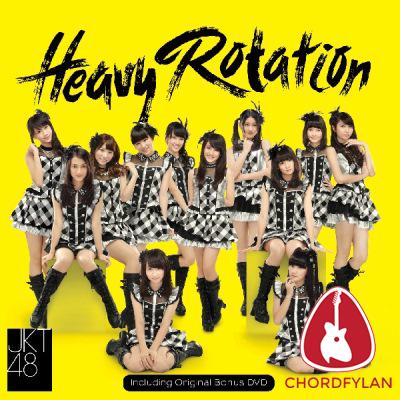 Lirik dan chord Heavy Rotation - JKT48