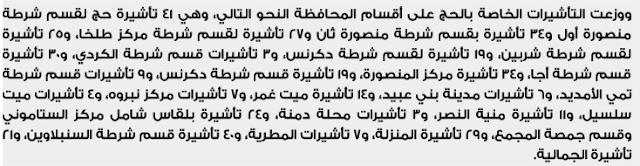 الأسماء الكاملة لنتيجة قرعة الحج بمحافظة الدقهلية 2018 كشوف بأسماء الفائزين بقرعة الحج