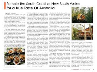 New South Wales Australia. Photograph by Janie Robinson, Travel Writer
