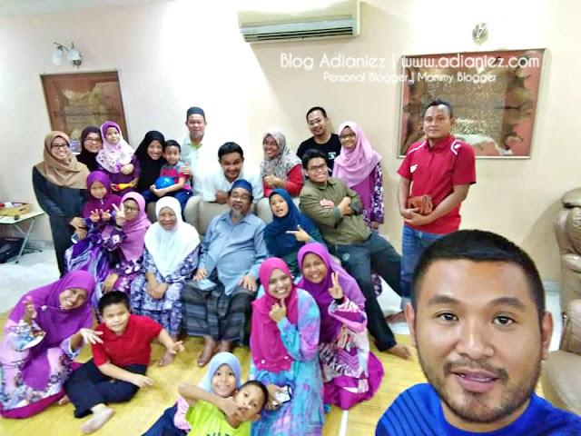 Keluarga Besar | Bertahun-tahun Baru Separuh Complete Semua Dalam Satu Gambar