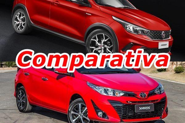 Comparativa: Toyota Yaris vs Fiat Argo