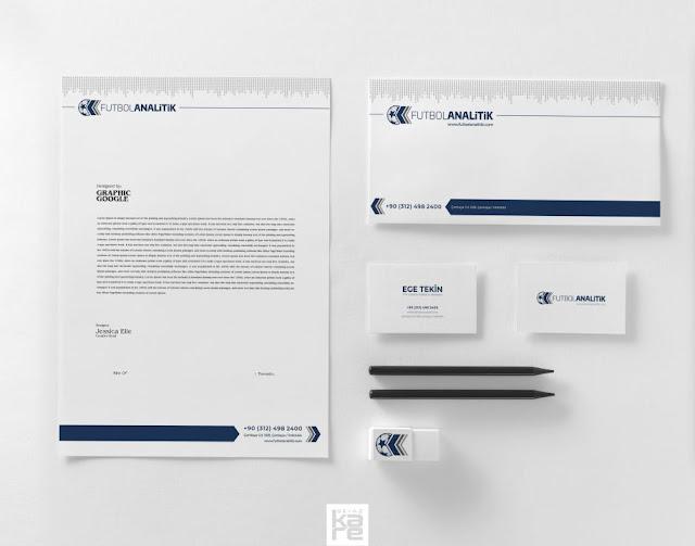Logo Kurumsal Kimlik Marka Tasarımı, antetli kartvizit zarf tasarımı, şirket kartvizit, firma antetli kağıt