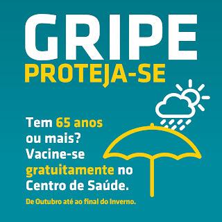 Campanha de vacinação gripe sazonal em Portugal
