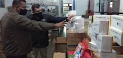 Centros de salud centinelas recibieron más de 36 mil unidades de medicamentos e insumos