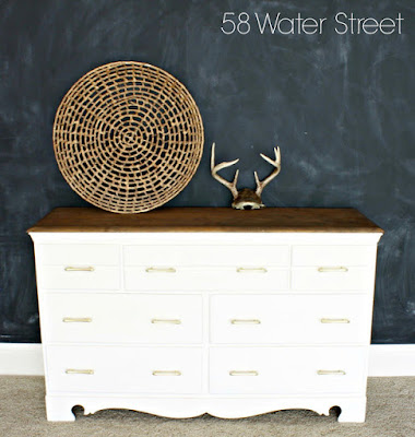FFFC - dresser makeover - 58 Water Street Blog