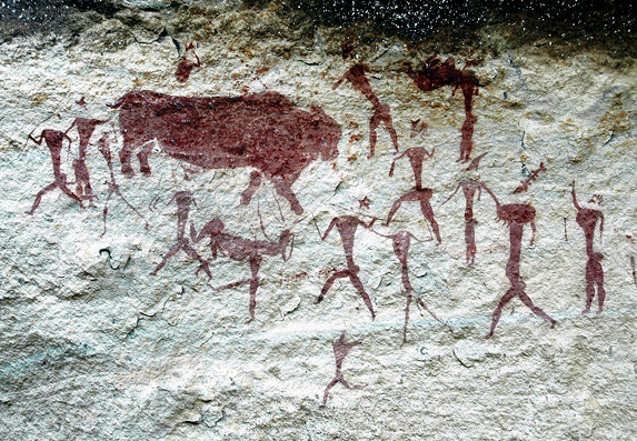 Arte em rocha (África do Sul)