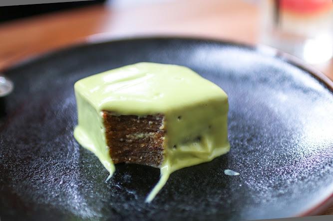 Lucky Suzie Sydney Spiced Layer Cake Pandan Custard Dessert