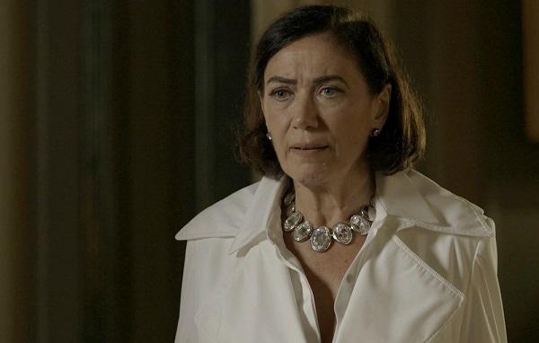Valentina quer que Judith seja presa (Imagem: Reprodução/TV Globo)