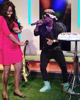 lillian - Citizen TV's LILIAN MULI goes ga ga over Diamond Platinumz and his Wasafi Crew, says they give her Goosebumps!