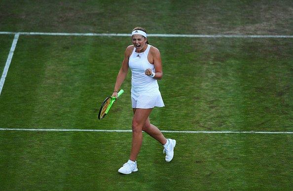 French Open champion Jelena Ostapenko  Escapes Upset, to win 4-7, 7-6(4), 6-3 against Françoise Abanda