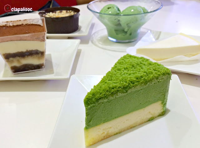 Desserts from Genki Sushi PH