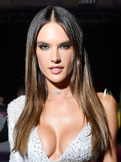 You Need to See the Left Side of Alessandra Ambrosio's Sequined Gown, Stat
