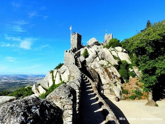 Castelo dos Mouros o Castillo de Sintra, Portugal