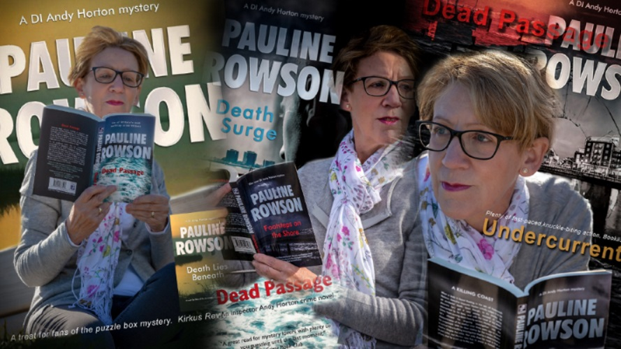 Pauline Rowson - one of Britain's most exciting crime writers
