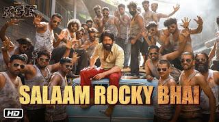 Salaam Rocky Bhai Lyrics | KGF | Vijay Prakash | Mohan Krishna | Ravi Basrur