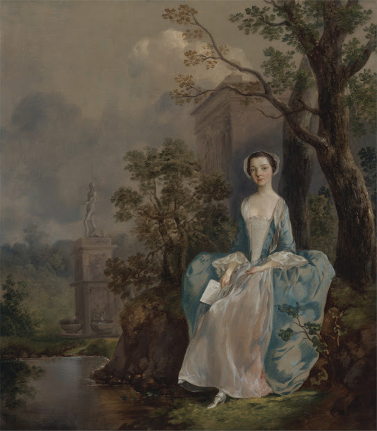 Thomas Gainsborough Paintings Women