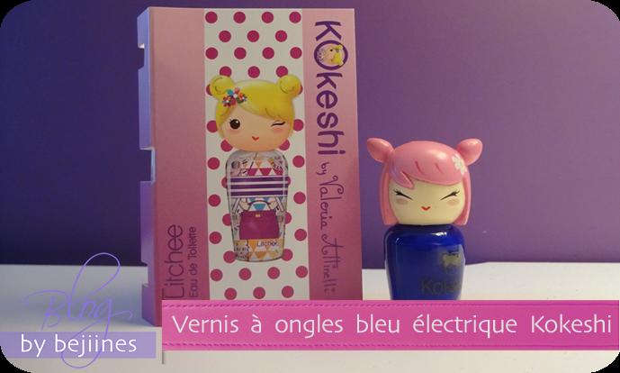 Vernis Kokeshi : colorés et girly