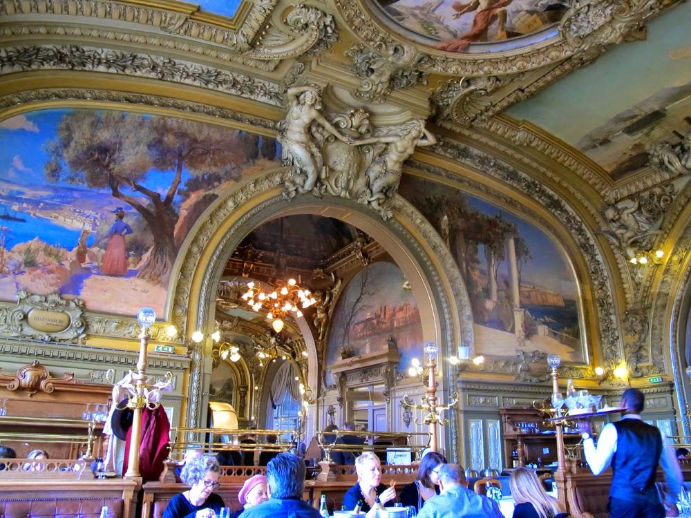 Le Train Bleu, Paris restaurant