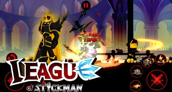 Download LEAGUE OF STICKMAN 2017 MOD APK