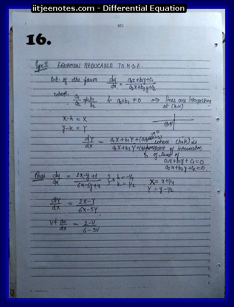 differential equation notes3