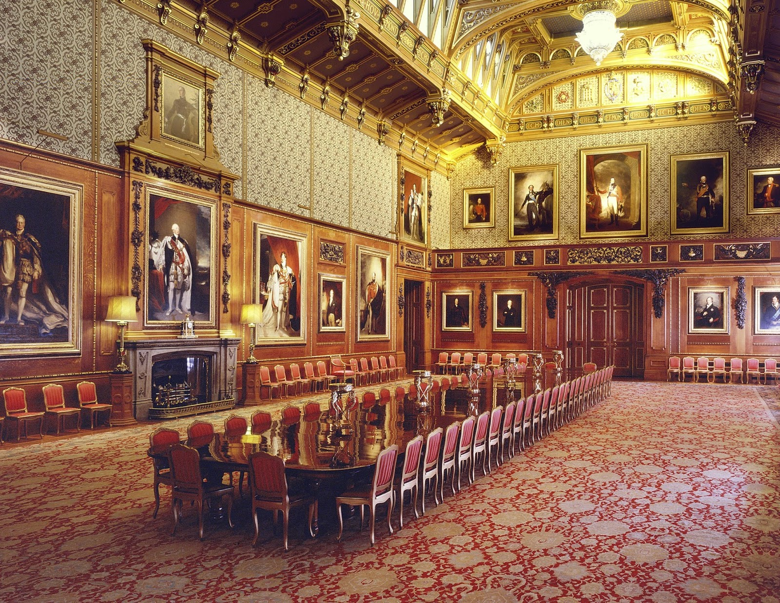 The Waterloo Chamber, Windsor Castle  Photo: Mark Fiennes  Royal Collection Trust © Her Majesty Queen Elizabeth II 2014