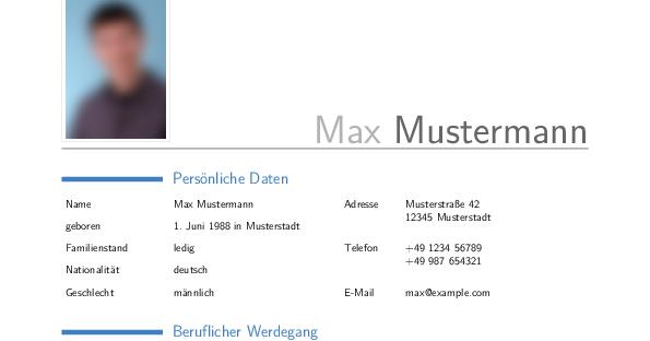 blog.michael fiedler.net: Lebenslauf Vorlage für LibreOffice