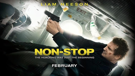 Poster Of Non Stop (2014) In Hindi English Dual Audio 300MB Compressed Small Size Pc Movie Free Download Only At worldfree4u.com
