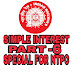 Maths tricks in hindi simple interest for ntpc